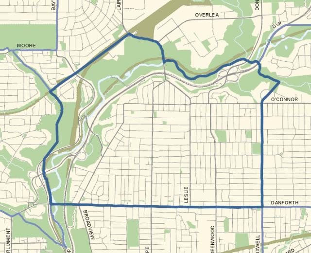 Ward 29 map